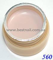 Гель-краска CANNI 5мл №560 светлая молочно-лиловая, фото 1