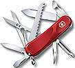Швейцарский отличный складной нож Victorinox Evolution 18, 24913.E  красный