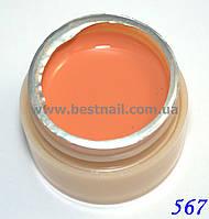 Гель-краска CANNI 5мл №567 оранжевая карамель
