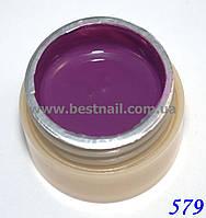 Гель-краска CANNI 5мл №579 фиолетовая, фото 1