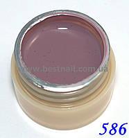 Гель-краска CANNI 5мл №586 фиолетово-серая, фото 1