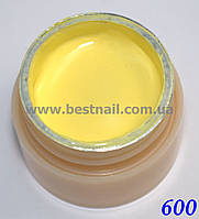 Гель-краска CANNI 5мл №600 пастельная желтая, фото 1