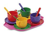 Набор игрушечной посуды с подносом 0293 ТМ Юника, 13 предметов