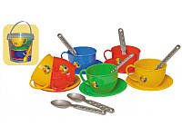 """Набор игрушечной посуды """"Чайный сервиз"""" ТМ Технок 0083"""