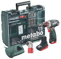 Аккумуляторный шуруповерт METABO PowerMaxx BS Quick Pro Mobile Workshop (600157880)