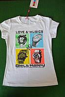 Очень красивая футболочка Love & Musics, 146 см