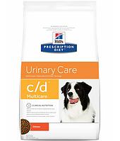 Сухой корм Hills (Хилс) Prescription Diet Canine c/d для собак для профилактики и лечения мочекаменной болезни