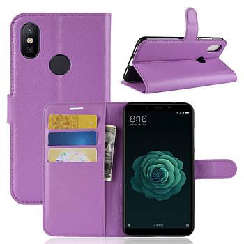 Чехол (книжка) Wallet с визитницей для Xiaomi Mi 6X / Mi A2