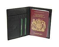 Обложка для паспорта кожаная с отделениями для кредиток Visconti 2201