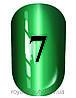 Гель лак котяче око № 7, Trandy nails, 10 мл