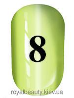 Гель лак котяче око № 8, Trandy nails, 10 мл