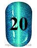 Гель лак котяче око № 20, Trandy nails, 10 мл