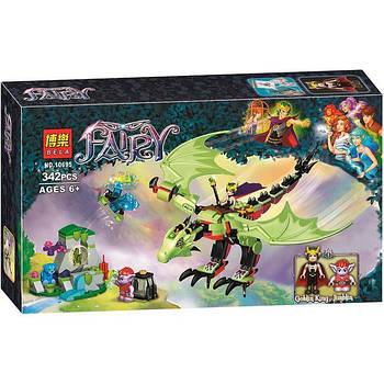 """Конструктор Bela Fairy 10695 аналог Lego Elves 41183 """"Дракон Короля Гоблинов"""", 342 детали"""