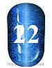 Гель лак котяче око № 22, Trandy nails, 10 мл