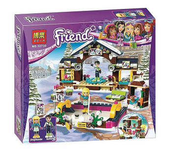 """Конструктор Bela 10730 """"Горнолыжный курорт: каток"""" (аналог LEGO Friends 41322), 313 дет"""