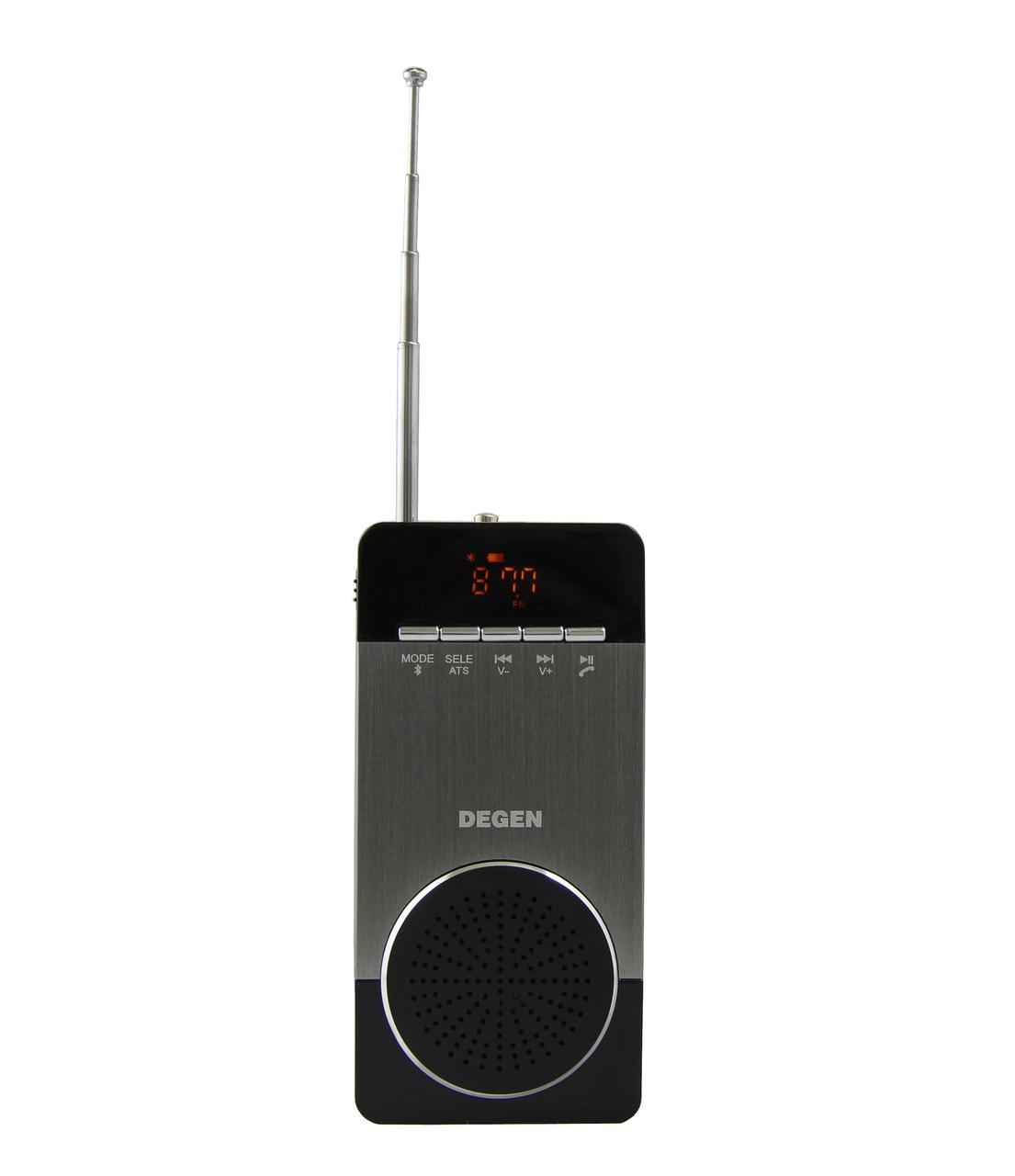 Радіоприймач Degen DE660 (запис дзвінків iPhone)