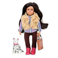 Лялька LORI 15 см Марія і кішка Мока LO31060Z