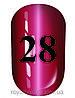 Гель лак котяче око № 28, Trandy nails, 10 мл