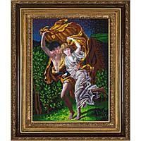 """Схема для вышивки бисером """"Гроза"""" по мотивам картины П.Огюста Кота"""