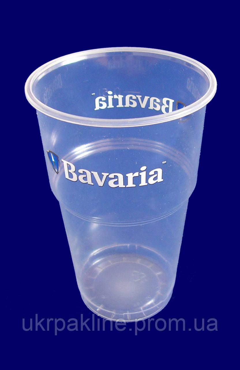 """Стакан одноразовый для пива """"Bavaria"""" арт. 95144 РР"""