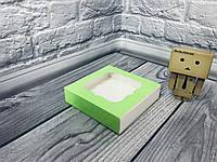 *50 шт* / Коробка для пряників / 120х120х30 мм / друк-Салат / вікно-звичайн, фото 1