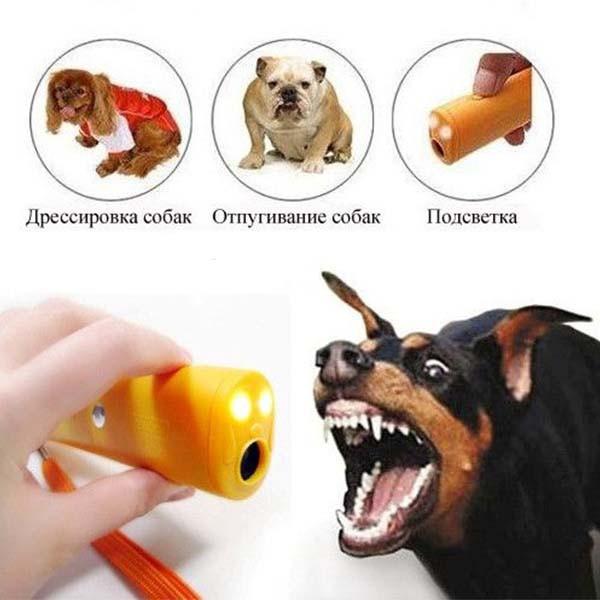Ультразвуковой Отпугиватель Собак AD-100+крона