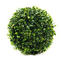 Искусственное растение куст, Самшит, зеленый, 23 см (960019)