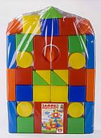 Кубики - конструктор «Замок» - 36 элементов.