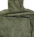 Дощовик-пончо з відділенням для рюкзака Tatonka Cape Men (р. XL), хакі 2798.036, фото 3
