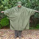 Дощовик-пончо з відділенням для рюкзака Tatonka Cape Men (р. XL), хакі 2798.036, фото 4
