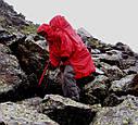 Дождевик-пончо с отделением для рюкзака Tatonka Cape Men (р.XL), красный 2798.015, фото 5