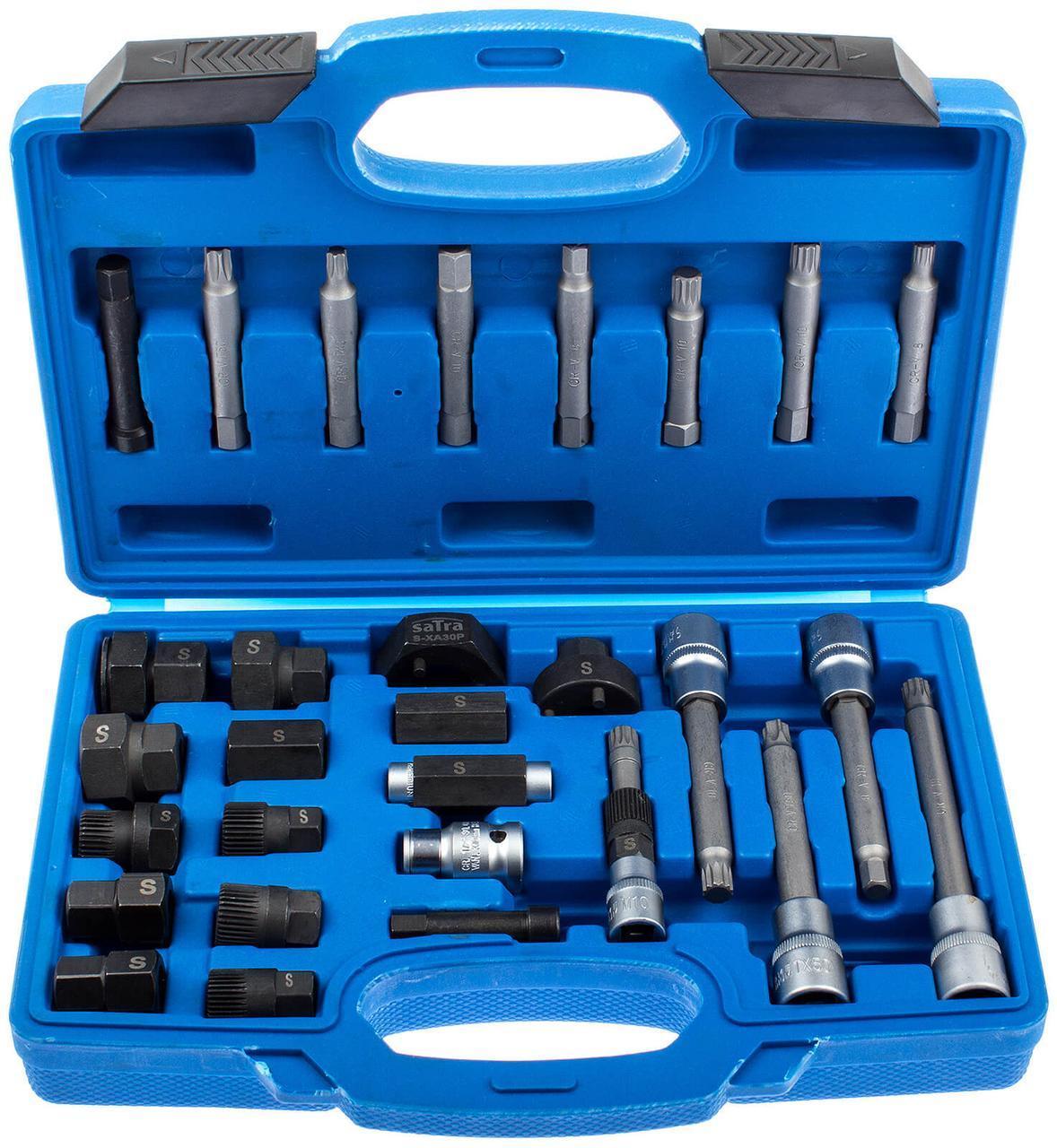 Набор ключей для генератора 30 предметов SATRA S-XA30P