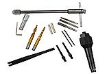 Набір для ремонту болтів свічок розжарювання 8-10 мм GEKO G02794, фото 2