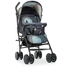 Коляска детская прогулочная (трость) Bambi Gray Blue арт. 4244