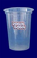"""Стакан одноразовый c лого """"Robin Bobin"""" арт. 95116 РР"""