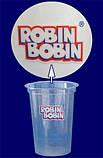 """Стакан одноразовый c лого """"Robin Bobin"""" арт. 95116 РР, фото 2"""