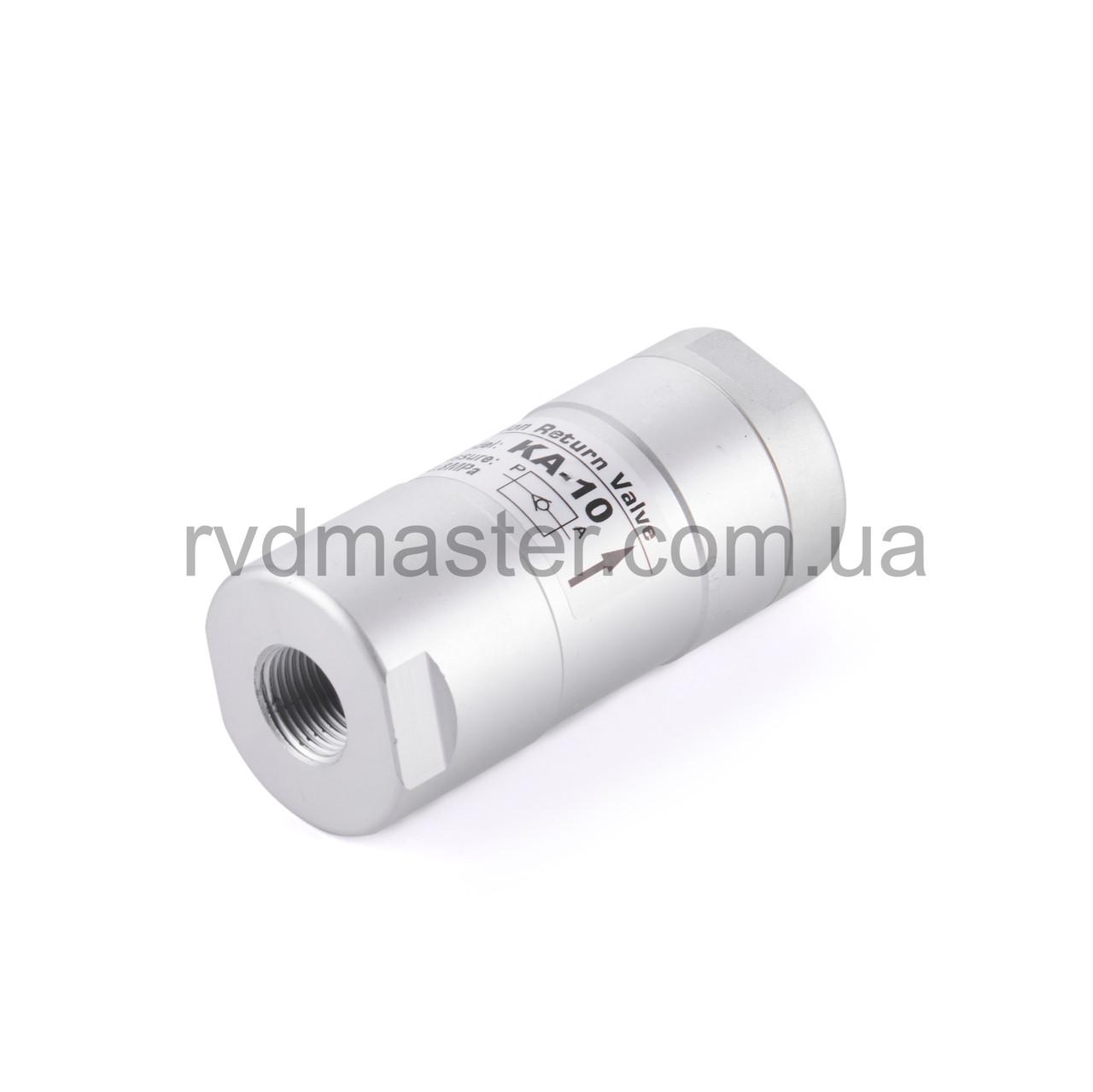 """Обратный клапан, пневматический KA-06 (1/8"""" BSP)"""