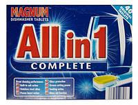 Таблетки для посудомоечных машин Magnum All in 1 Complete 40 шт., Германия