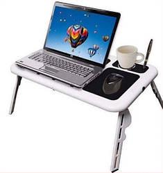 Столик для ноутбука E-Table LD09 Охлаждающий