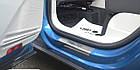 Накладки на пороги Volkswagen Tiguan 2016-2020, Premium, фото 4