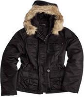 Осенняя женская куртка Abby Alpha Industries (черная)