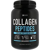 Sports Research, Коллагеновые пептиды, без вкусовых добавок, 32 унции (900гр), фото 1