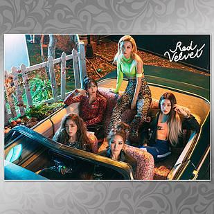 Плакат K-Pop Red Velvet