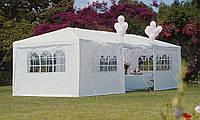 Распродажа! Садовый павильон,Торговый шатер 3 х 9 м,Садовая палатка Белый