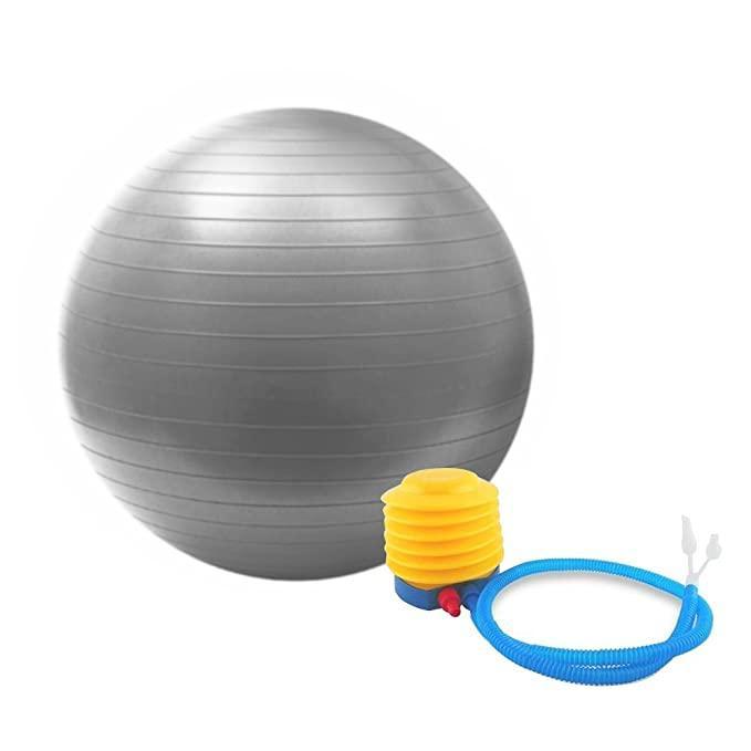 Мяч для фитнеса (фитбол) YB02 65CM ANTI-BURST HMS