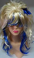 Маскарадный парик Кокетка Блонд