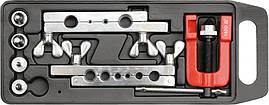 Пресс для ручного расширения труб Yato 3-19 мм с аксессуарами 7 шт. (YT-2180)
