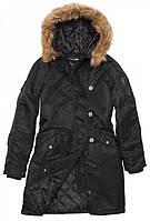 Осенняя женская куртка Natasha Alpha Industries (черная)