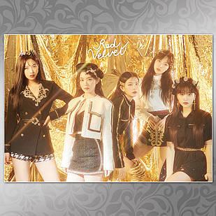 Плакат K-Pop Red Velvet 005