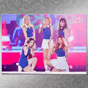 Плакат K-Pop Red Velvet 006